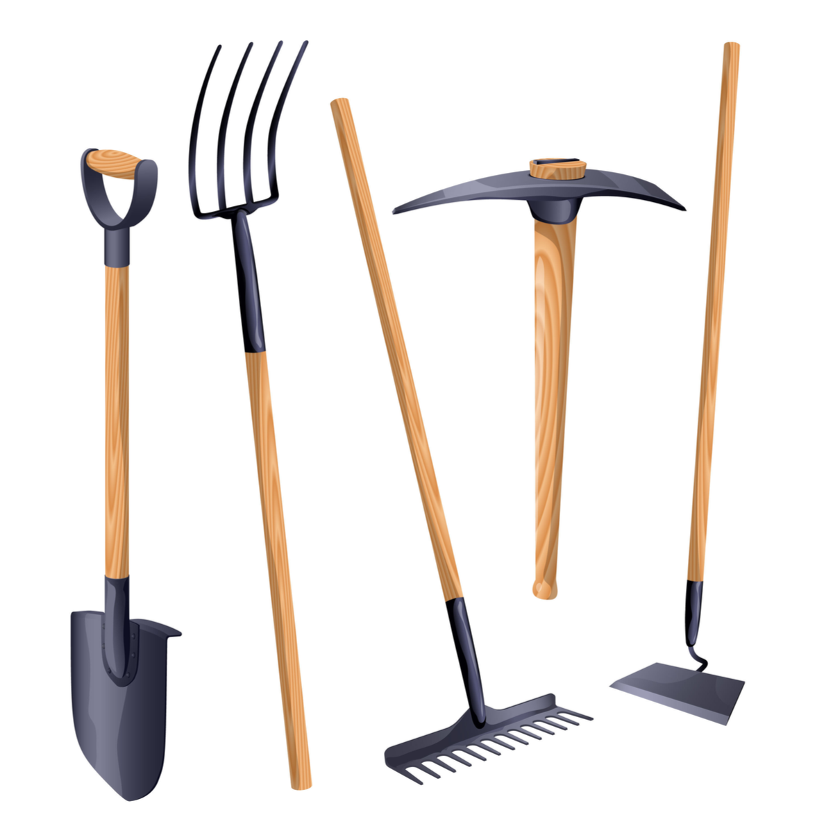 Garden Tools Assorted Complete Hire Equipment Pty Ltd